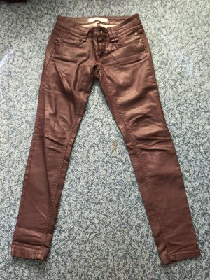 Freeman T. Porter Jeans Dixie weinrot 28