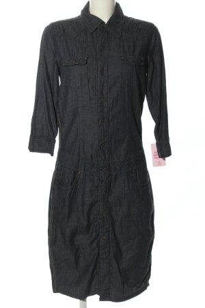 Freeman t. porter Robe en jean noir style décontracté