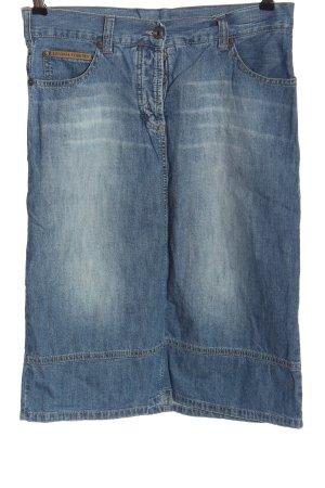Freeman t. porter Jupe en jeans bleu style décontracté