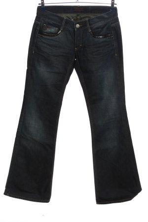 Freeman t. porter Jeans flare bleu style décontracté