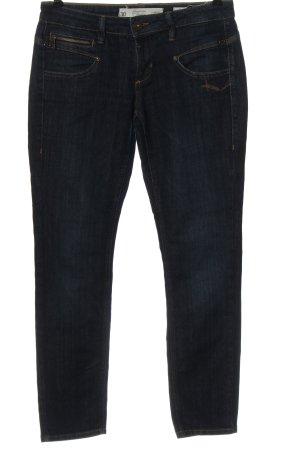 Freeman t. porter Jeans a zampa d'elefante blu stile casual
