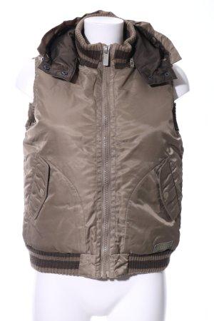 Freeman t. porter Gilet à capuche bronze style décontracté