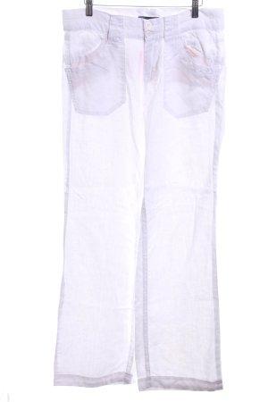 Freeman t. porter Pantalón de lino blanco look casual