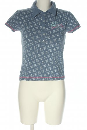 Freeman t. porter Polo-Shirt Allover-Druck Casual-Look