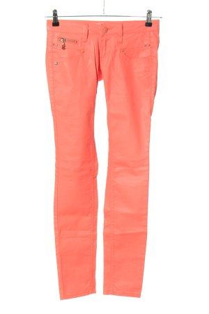 Freeman t. porter Jeans skinny arancione chiaro stile casual