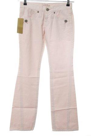 Freeman t. porter Pantalon en jersey crème style décontracté