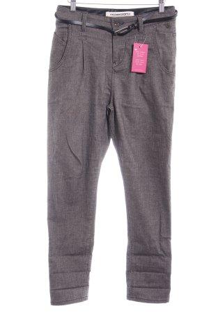 Freeman t. porter Pantalon en jersey gris brun-noir tissu mixte