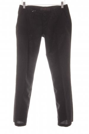 Freeman t. porter Stoffhose schwarz Business-Look