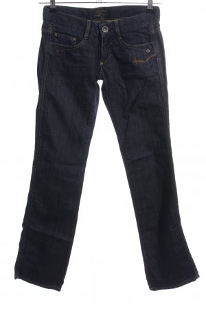Freeman t. porter Straight-Leg Jeans blau Casual-Look