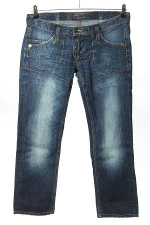 Freeman t. porter Straight-Leg Jeans blau Casual-Look