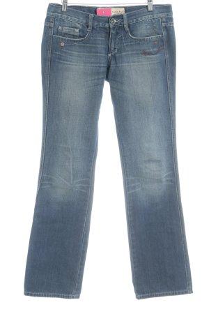 Freeman t. porter Jeans coupe-droite gris ardoise style décontracté