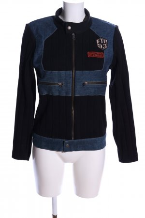 Freeman t. porter Strickjacke schwarz-blau Casual-Look