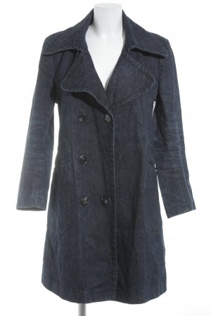 Freeman t. porter Übergangsmantel dunkelblau Jeans-Optik