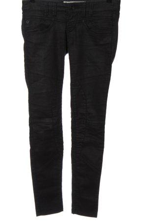 Freemant T. Porter Biker jeans zwart casual uitstraling
