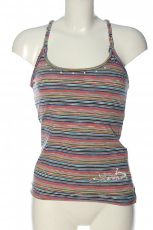 Freemant T. Porter Halter Top striped pattern casual look