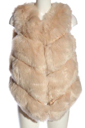 freeplume Fake Fur Vest cream elegant