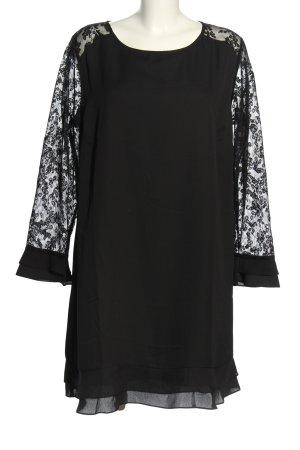 Freequent Spitzenkleid schwarz Elegant
