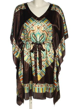 FREESIA collection Robe tunique motif abstrait style décontracté