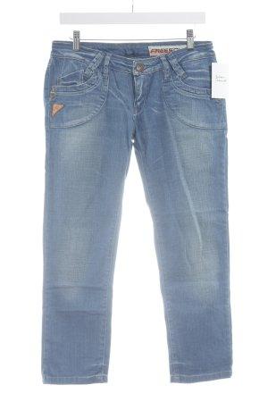 Freesoul 3/4 Jeans kornblumenblau Casual-Look