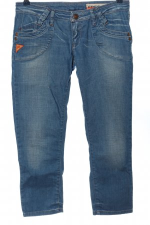 Freesoul 7/8 Jeans blau Casual-Look