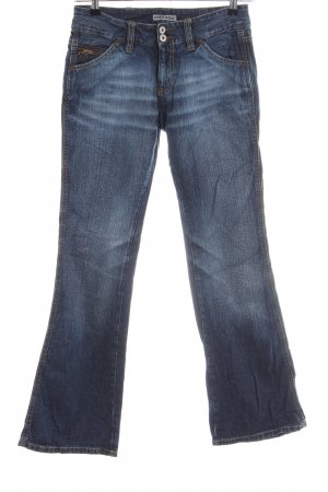 Freesoul Boot Cut Jeans blau Casual-Look