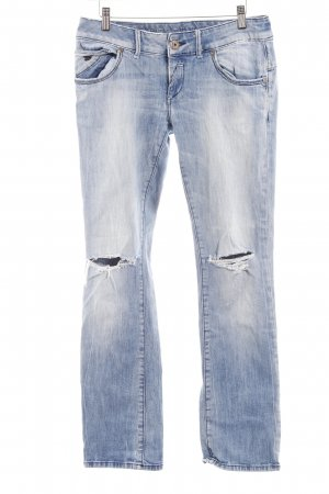 Freesoul Boot Cut Jeans himmelblau Casual-Look