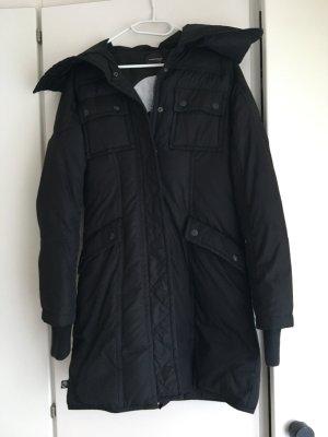 Freesoul Manteau en duvet noir