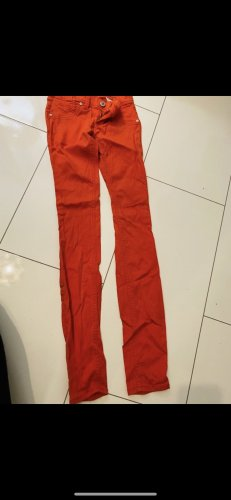 Freesoul Pantalón elástico salmón-rojo ladrillo
