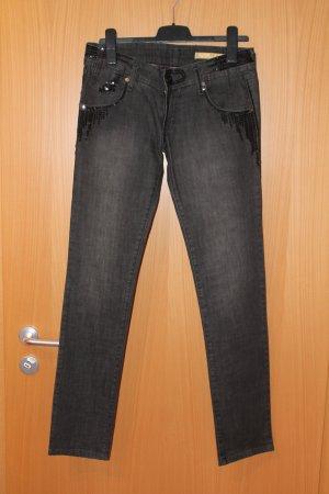 Freesoul Jeans skinny nero
