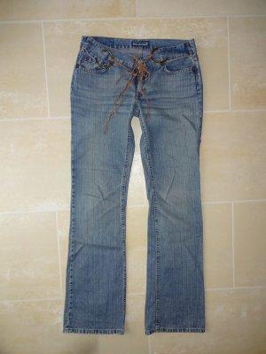 Freesoul Jeans bootcut multicolore