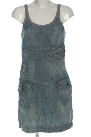 Freesoul Robe en jean bleu style décontracté