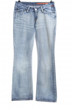 Freesoul Jeansschlaghose blau Casual-Look