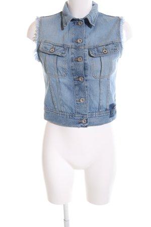 Freesoul Jeansweste blau Casual-Look