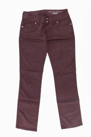 Freesoul Pantalón de efecto piel lila-malva-púrpura-violeta oscuro Algodón