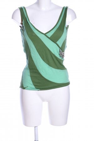 Freesoul Backless Top turquoise-green casual look