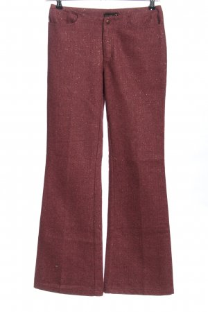 Freesoul Flares red flecked casual look