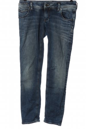 Freesoul Jeans skinny bleu style décontracté