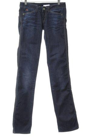 Freesoul Jeans skinny bleu foncé style décontracté