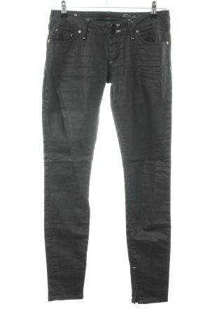 Freesoul Jeans skinny noir style décontracté