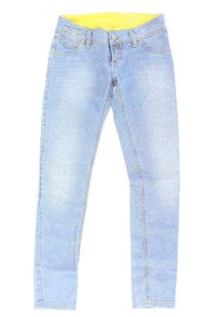Freesoul Jeans skinny bleu-bleu fluo-bleu foncé-bleu azur coton