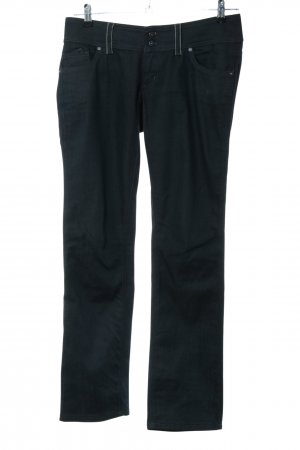 Freesoul Straight-Leg Jeans schwarz Business-Look