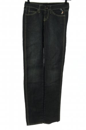 Freesoul Straight-Leg Jeans schwarz Casual-Look