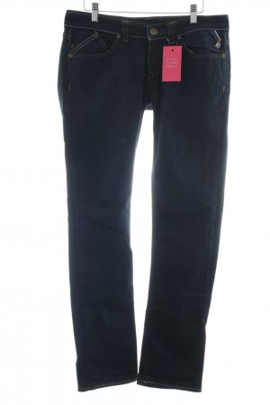 Freesoul Straight-Leg Jeans dunkelblau Casual-Look