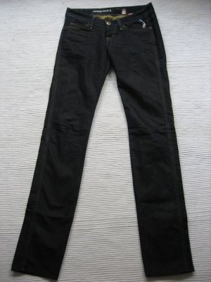 freesoul tolle jeans neu gr. xs 34 (27) dunkelblau mit glanz