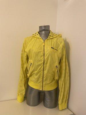 Freesoul Podwójna kurtka srebrny-żółty