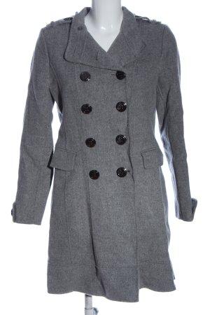 Freesoul Manteau d'hiver gris clair moucheté style d'affaires