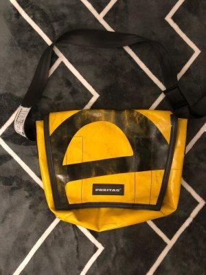Freitag College Bag gold orange