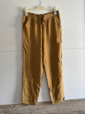 Pantalón de pinza alto naranja claro-naranja
