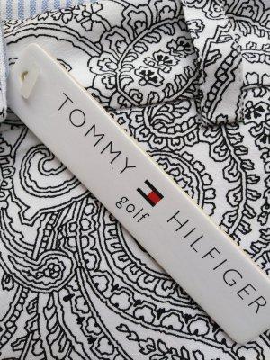 Tommy Hilfiger Pantalone da ginnastica bianco-nero Cotone