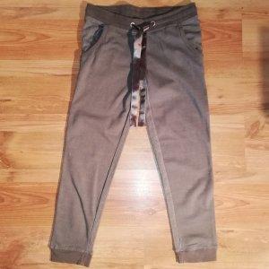 Pantalon de jogging gris foncé-argenté